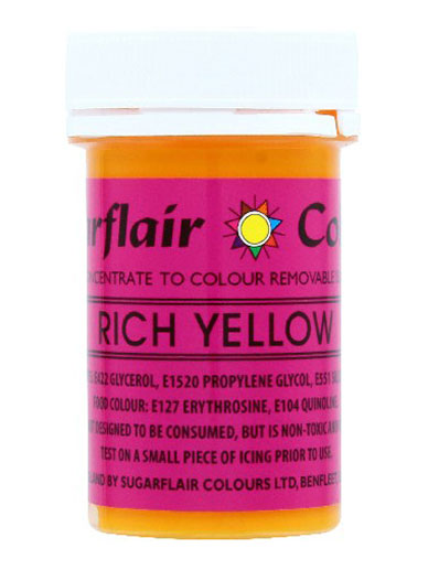 Rich Yellow Non-Edible Craft Paste 25g
