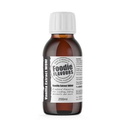 Bourbon Vanilla Extract WONF! 200ml