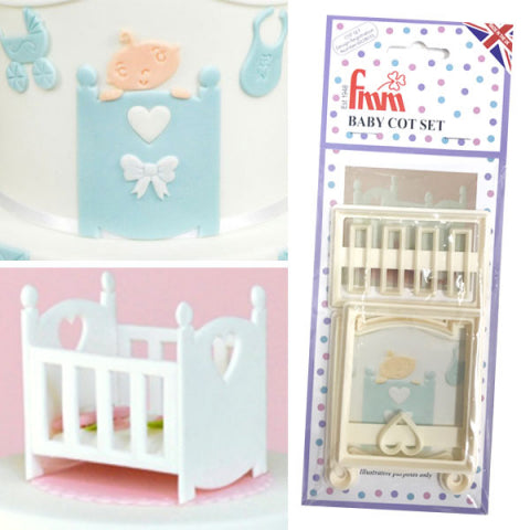 Baby Cot Cutter Set of 3