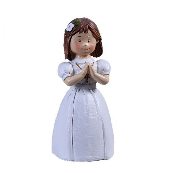 Communion Girl Dark Hair 85mm