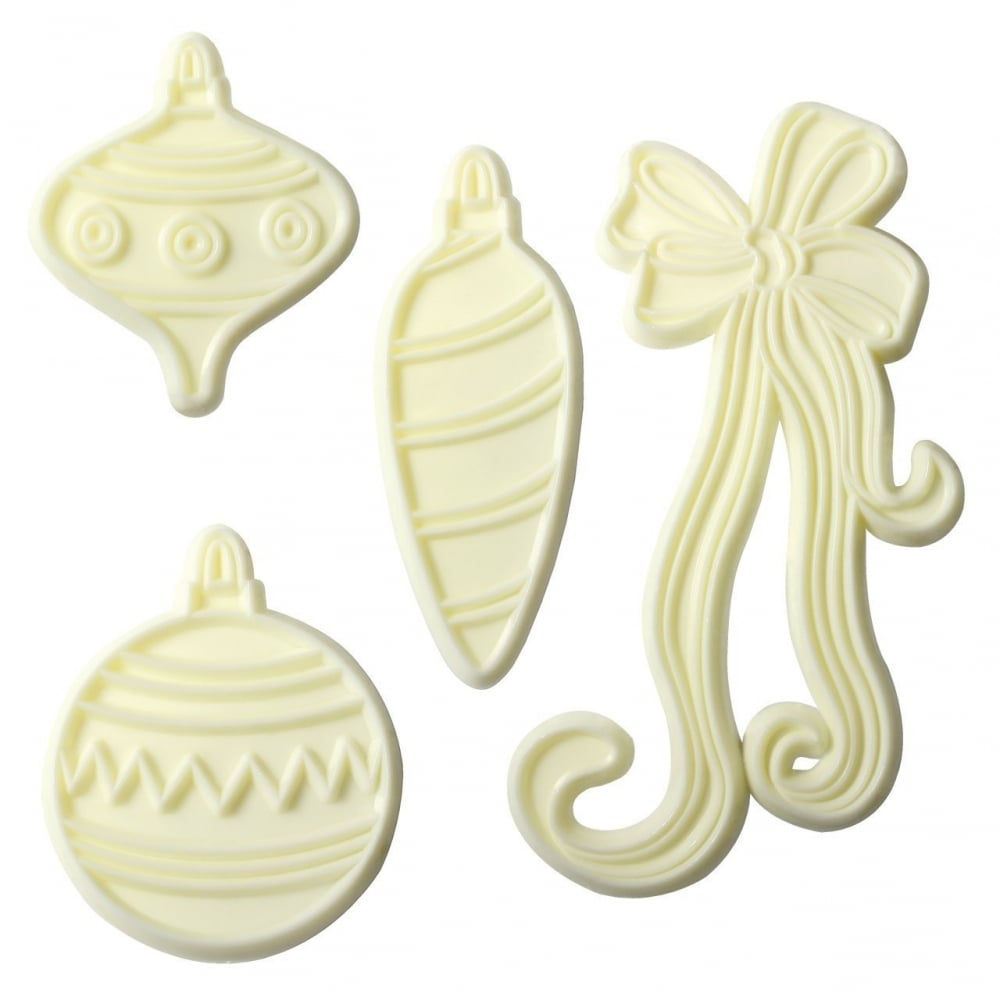 JEM Cutters - Baubles & Bows Set of 4