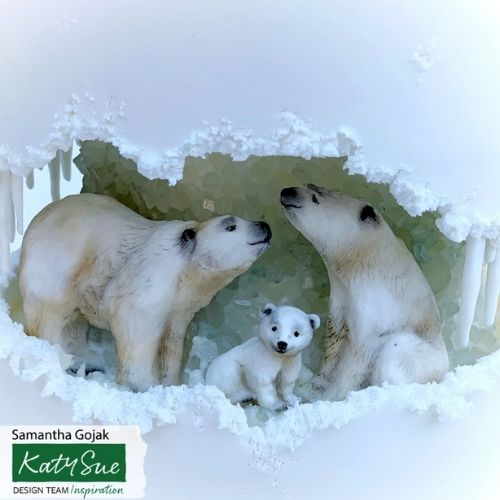 Katy Sue Moulds : Polar Bear Family
