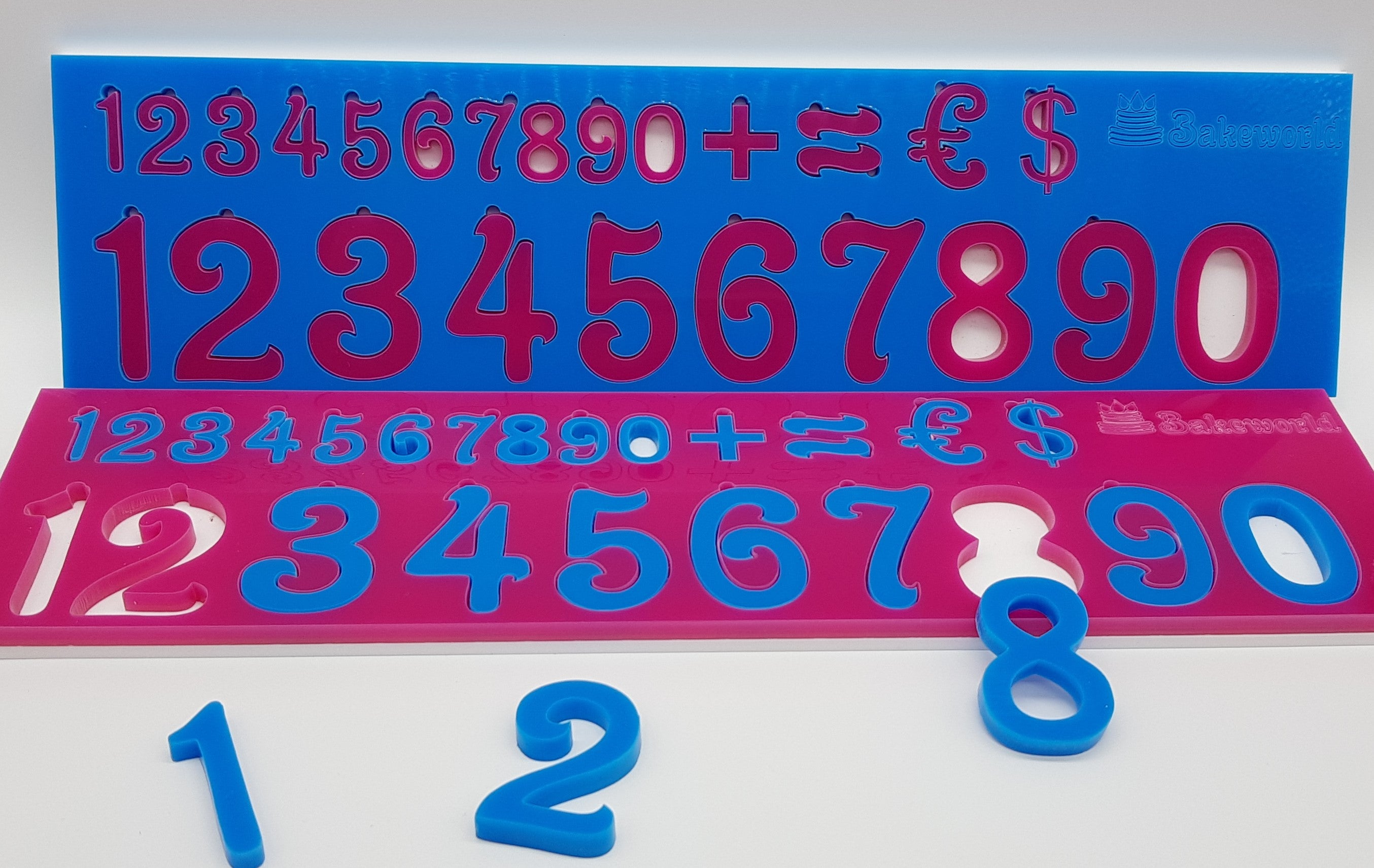 "Pressit Alphabet & Numbers""Flow"" Full Set"