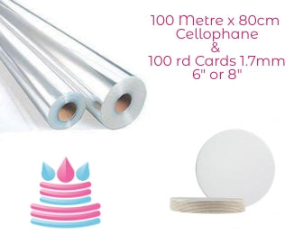 Cellophane & Cake Card Offer - Bakeworld.ie