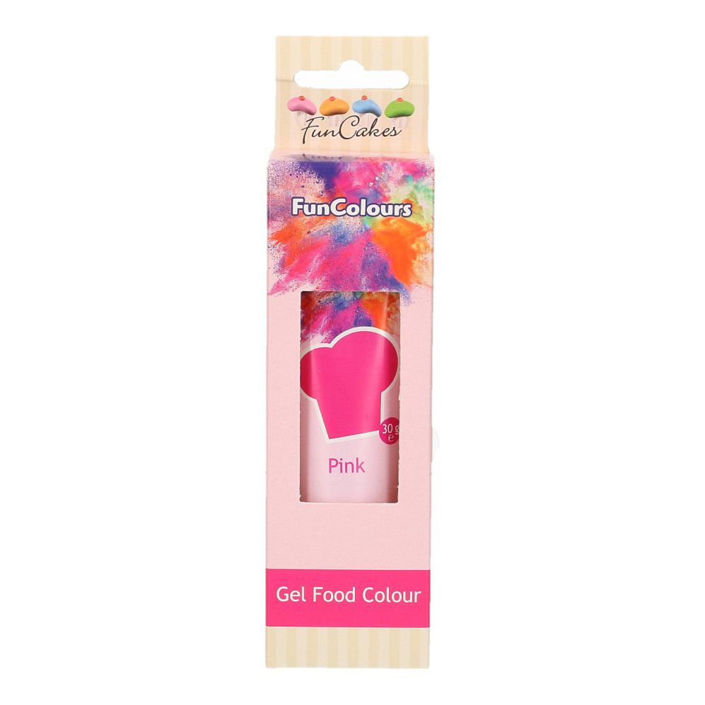 FunCakes Edible Hi Strength Gel - Pink 30g