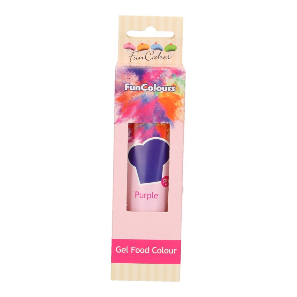 FunCakes Edible Hi Strength Gel - Purple 30g