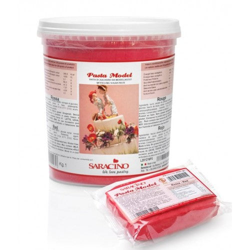Saracino Red Modelling Paste 1kg (dated 31-Jan-2021)
