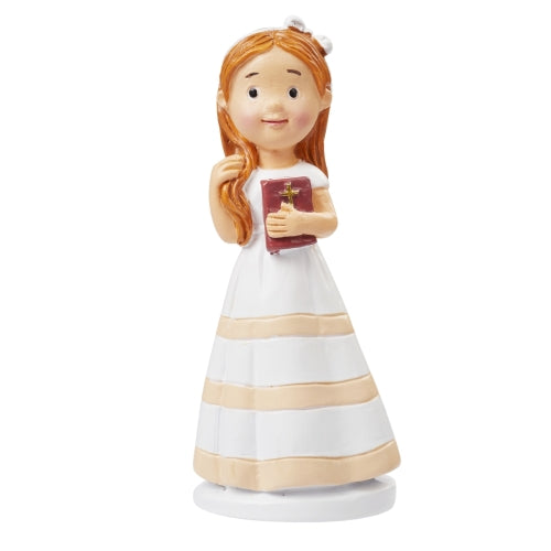 Communion Girl stipe dress 90mm