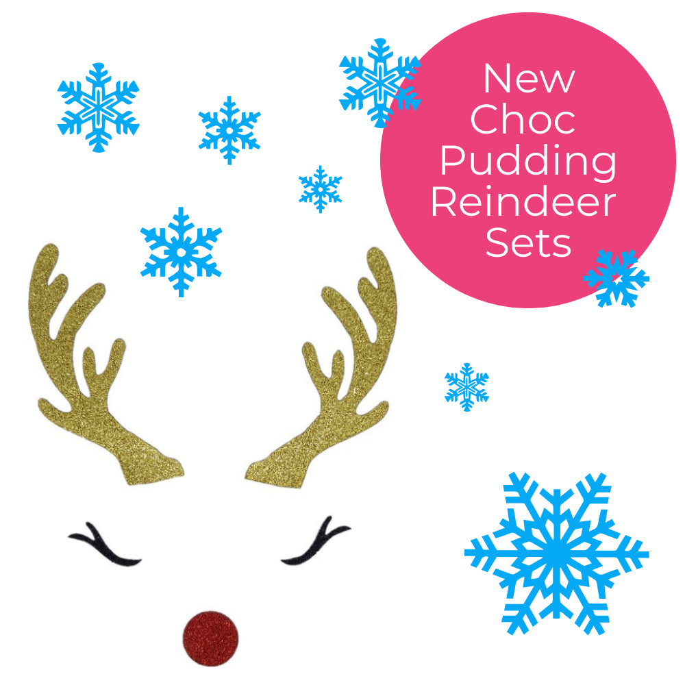 Reindeer Pudding Set Single or 5pk
