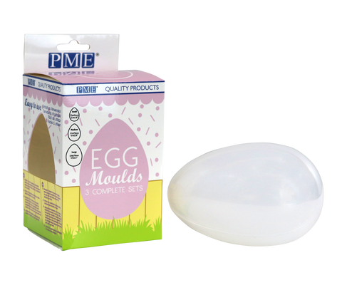 PME 3D Egg Moulds - Set of 3