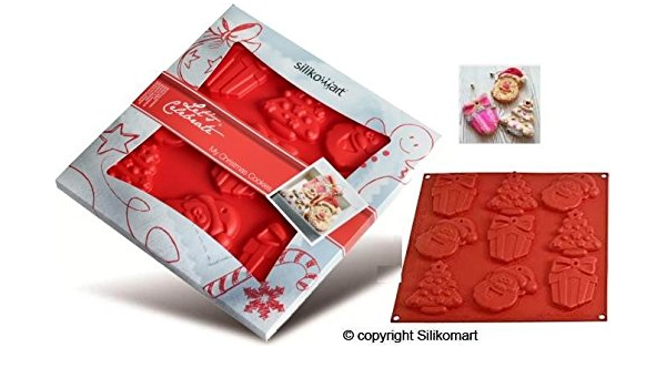 Christmas Cookie Santa/Tree/Gift Mat