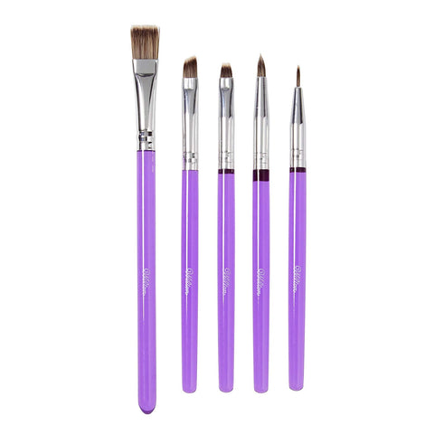 Wilton : Decorating Brush Set - 5 Pieces