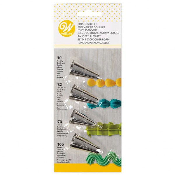 Wilton : Borders Tip Set - Carded