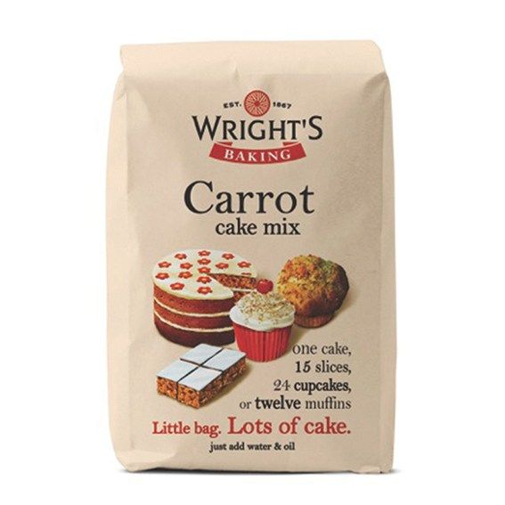 Wrights Baking Carrot Cake Mix