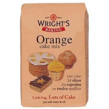 Wrights Baking Orange Cake Mix