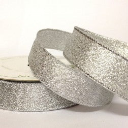 Silver Metallic 15mm 7 Metres