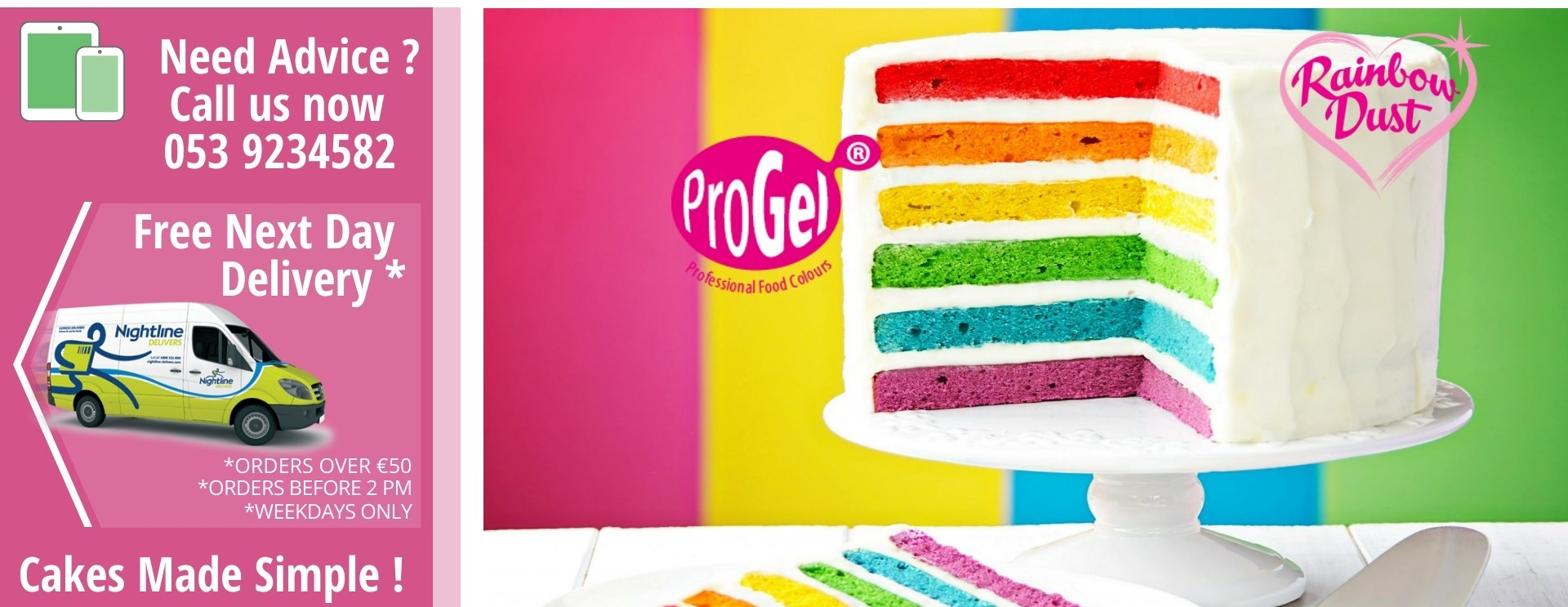 New Progel Colours