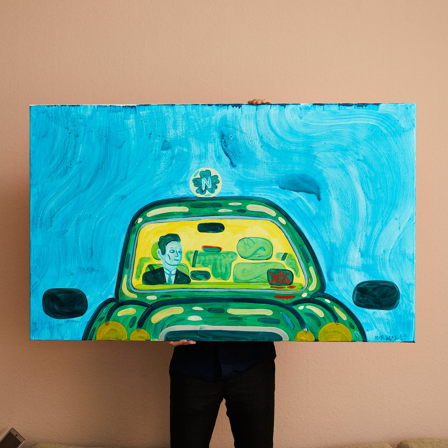 Image of   Taxi - 80 x 130 cm