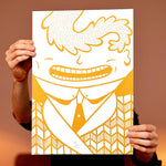 Almost sold out! Golden Gentleman - A3 size