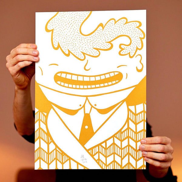Golden Gentleman - A3 size