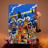 Midnight - 50 x 70 cm - Almost sold out!