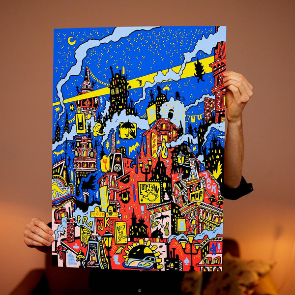 Almost sold out! Midnight - 50 x 70 cm