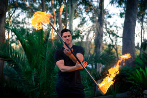 Collapsible Fire Staff