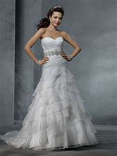 Alfred Angelo Bridal Gown 2314 - Size 10 White/Silver