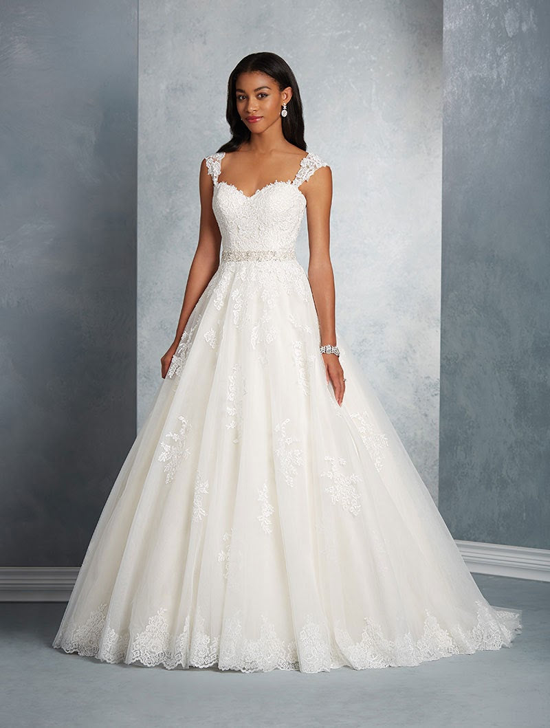 Mori Lee Bridal Gown 2602 - Size 18 White/Silver