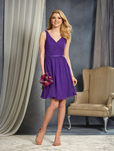 Alfred Angelo 7363S - Size 10 Violet