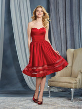 Alfred Angelo 7368S - Size 8 Cherry