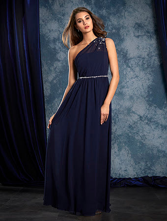Alfred Angelo 8109L - Size 10 Navy