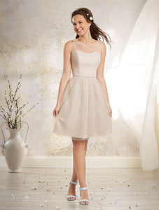 Alfred Angelo 8632S - Size 14 Sandstone
