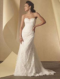 Alfred Angelo Bridal Gown 2208 - Size 10 White