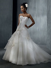Alfred Angelo 2310C - Size 12 Ivory