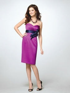 Alfred Angelo 7122 - Size 10 Violet/Navy