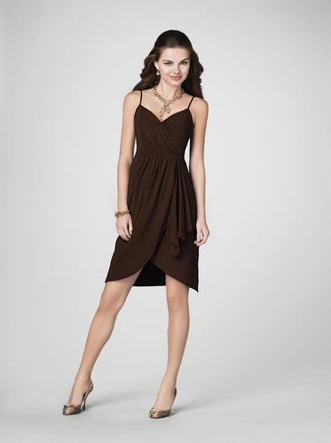 Alfred Angelo 7195 - Size 12 Espresso