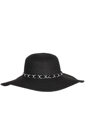 Floppy Sun Hat - Black