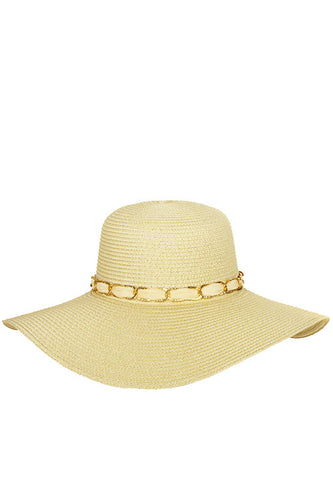 Floppy Sun Hat - Light Tan
