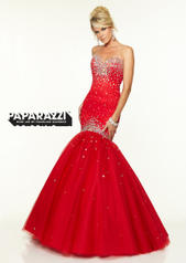Mori Lee Paparazzi 97144 - Size 10 Red