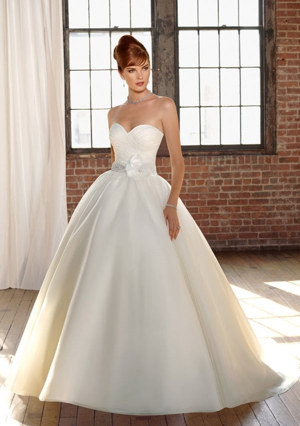 Mori Lee 4808 - Size 10 White