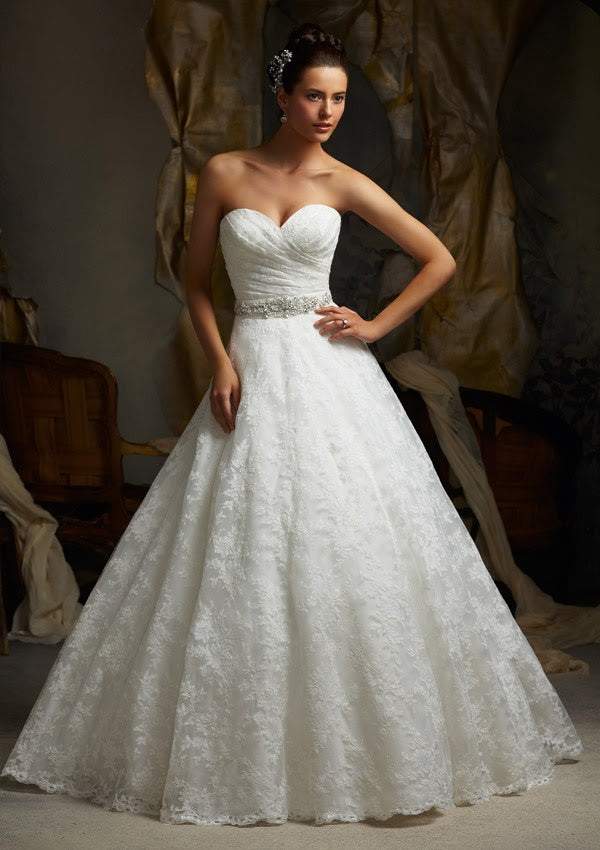 Mori Lee 5115 - Size 16 White