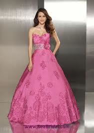 Mori Lee 8710 - Size 8 Rose
