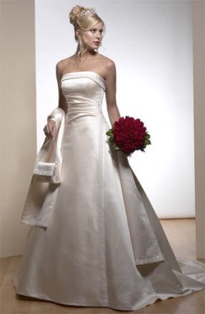 Maggie Sottero A3332DO - Size 6 Light Gold