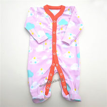 Retail 3pcs/pack 0-12months long-Sleeved Baby Infant cartoon footies for boys girls jumpsuits Clothing newborn clothes