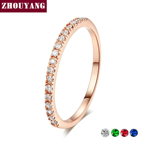 Classical Multicolor Mini Cubic Zirconia Fashion Jewelry