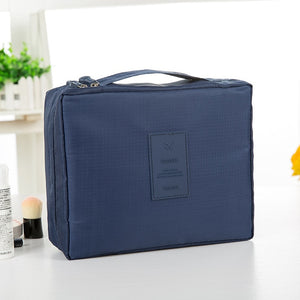 fashion Travel Nylon beauty makeup bags water-proof cosmetics bags bathroom organizer of Women portable bath hook washing up bag