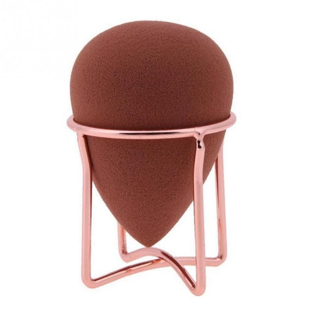 Makeup Puff Rack Sponge Holder Beauty Makeup Powder Puff Blender Storage Rack Sponge Drying Stand Holder