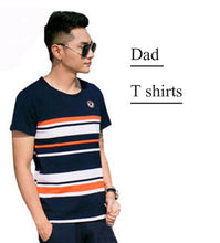 Family Matching Outfits 2019 Summer Fashion Striped T-shirt Outfits Mother And Daughter Dresses Father Son Baby Boy Girl Clothes
