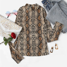 Night Out Multicolor Mock Neck Grid Fitted Stand Collar Long Sleeve T-shirt Autumn Office Lady Casual Women Tshirt Top